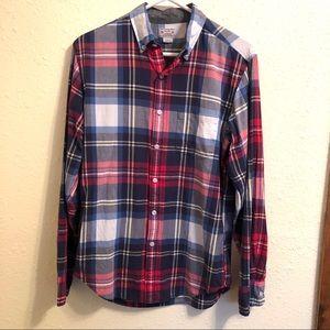 J Crew | Plaid Button Down Shirt